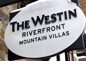 Westin Mountain Villas sign