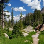 hiking trail in Colorado