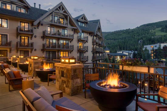 Four Seasons Residence Club--Vail patio