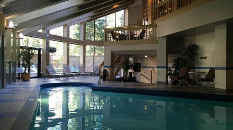 year-round, indoor pool at the Park Plaza in Beaver Creek