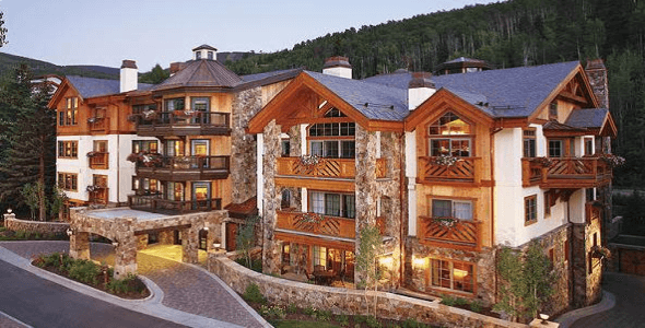 The Willows at Vail exterior during summer